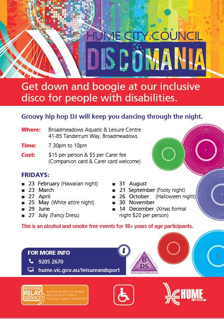 Discomania flyer